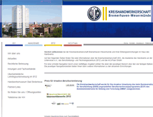 Tablet Preview of kreishandwerkerschaft-bremerhaven.de